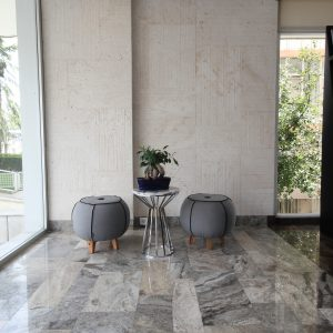 Silver Travertine, White Travertine